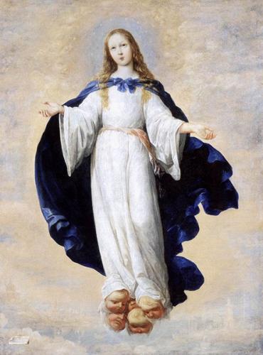 Louis Dupont,Luis de la Puente,Immaculée Conception,Vierge,Marie,péché originel,pureté,sainteté,gloire