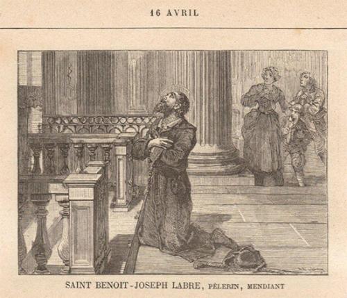 St Benoît-Joseph Labre,pèlerin