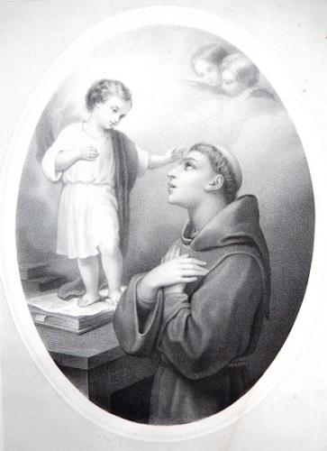 St Antoine de Padoue,religieux,docteur de l'Eglise