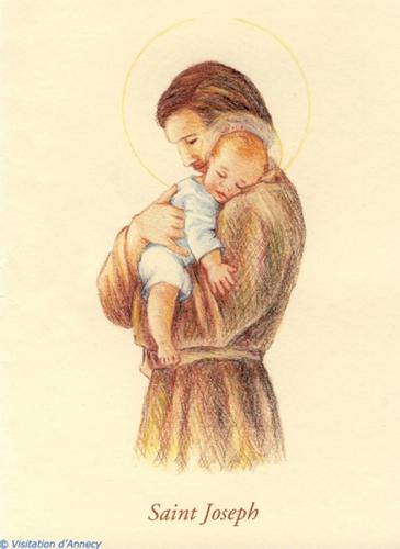 Saint Joseph,Ste Thérèse,dévotion,culte,protecteur,oraison,dévouement,grâces