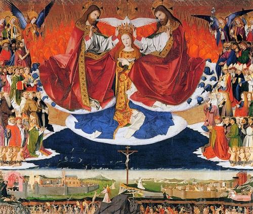 vierge marie,reine,visitation