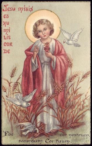 Gabriel de Ste Marie-Madeleine,mansuétude,Jésus,doux,humble,Coeur,douceur,colère,patience,humilité
