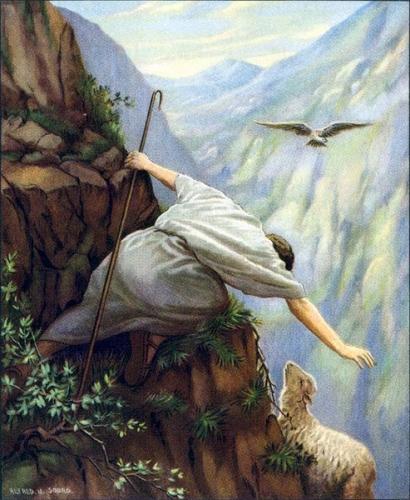 prière,St Ambroise,serviteur,chercher,brebis,perdue,retrouvée,Jésus