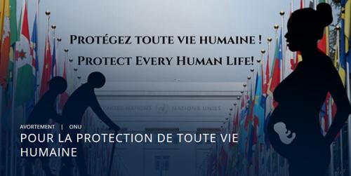 ONU,ECLJ,légalisation,avortement,euthanasie,droit,vie,mort