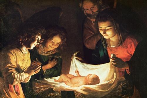 Dom Vandeur,vigile,Noël,Nativité,anges,minuit,gloire,incarnation,salut,Verbe,chair,Fils de Dieu