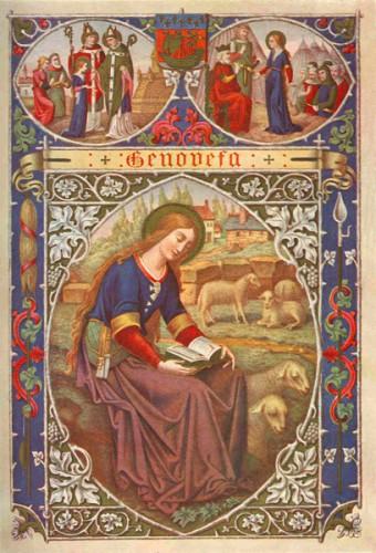 prière,Sainte Geneviève,1531