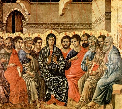 Matthieu Beuvelet,préparation,Pentecôte,Esprit,Saint,Saint-Esprit,grâces,apôtres,disciples,cénacle,Sainte Vierge,retraite,union,charité,prière,persévérance