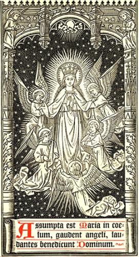 Assomption,Sainte Vierge,Marie,patronne,France