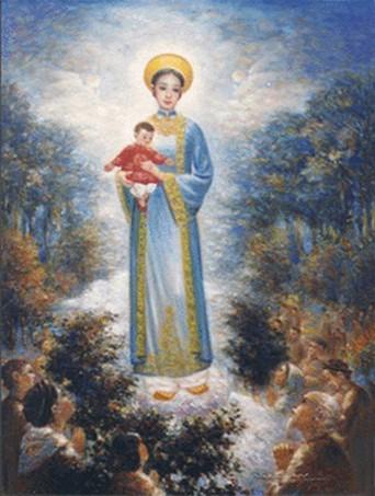 Vietnam,Congrès marial,sanctuaire,Notre Dame,La Vang,13 au 15 août,2014