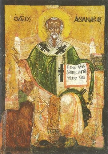 St Athanase,évêque,docteur de l'Eglise