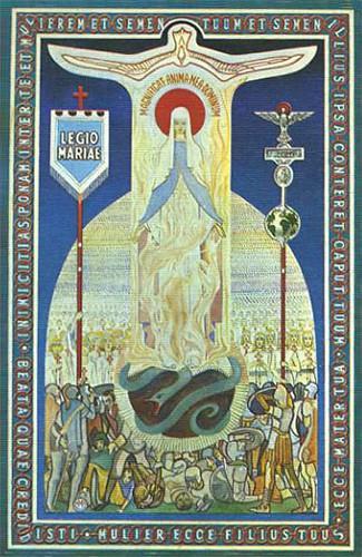 Anniversaire,fondation,Légion de Marie,Dublin,7 septembre,1921,Frank Duff,Irlande,Grignion de Montfort,Vierge Marie