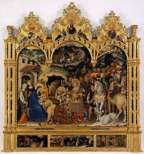 Dom Vandeur,Epiphanie,Ecce Advenit,étoile,lumière,mages,Jésus,enfant,adoration