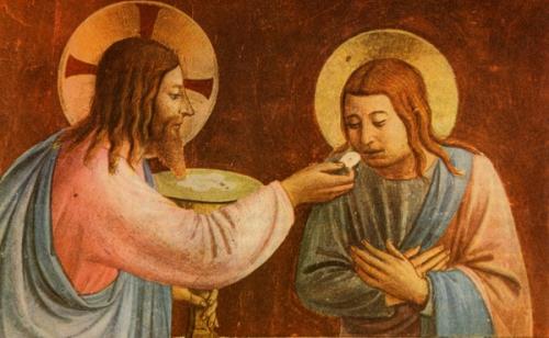Luc Vaubert,communion spirituelle,eucharistie,union,Corps,Sang,Jésus-Christ,désir,confiance,puissance