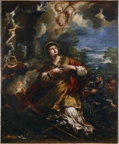 Ste Martine,vierge,martyre
