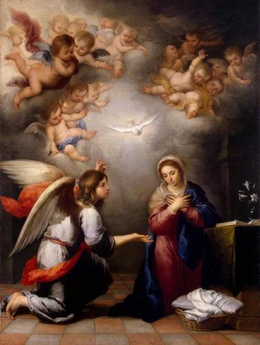 Annonciation,Bienheureuse,Vierge Marie,4 avril,25 mars,Seigneur