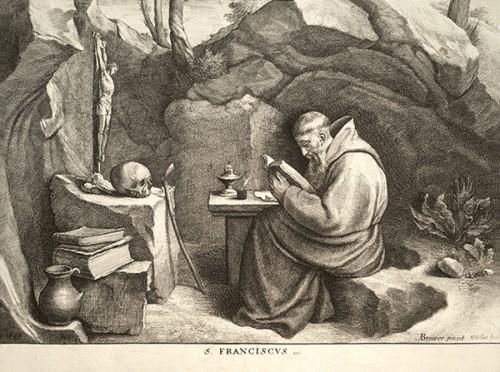St François,Assise,vision,Frère Léon