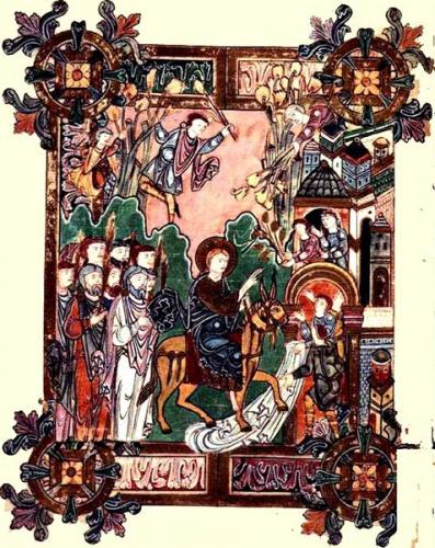 Dimanche,Rameaux,palmes,hosanna,Léon Dehon,passion,coeur,jésus,jerusalem,Marguerite-Marie,communion