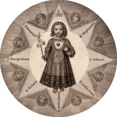 Grandes Antiennes,Antiennes Ô,Féries Majeures,antiphonae majores,17 décembre,O Sapientia