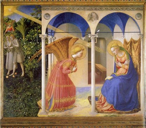 annonciation,vierge marie,seigneur,Marie Noël,Le Rosaire des joies