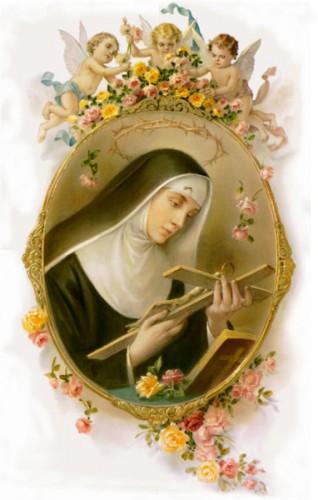 Sainte,Rita,Rite,Marguerite,vie,hagiographie,biographie,intercession,prière,neuvaine,litanies
