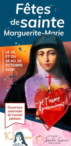 A Paray-le-Monial,Fêtes,Marguerite-Marie,16 octobre,2019