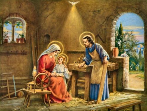 Sainte Famille,famille,Nazareth,père,mère,enfant,trinité,fils,saint-esprit,union,unité,amour