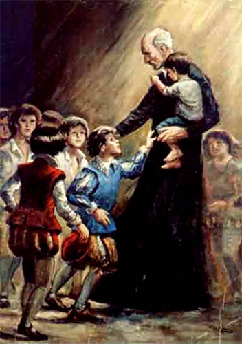 St Joseph Calasanz,religieux,fondateur,Frères,écoles Pies