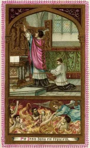 Prière,âmes,Purgatoire