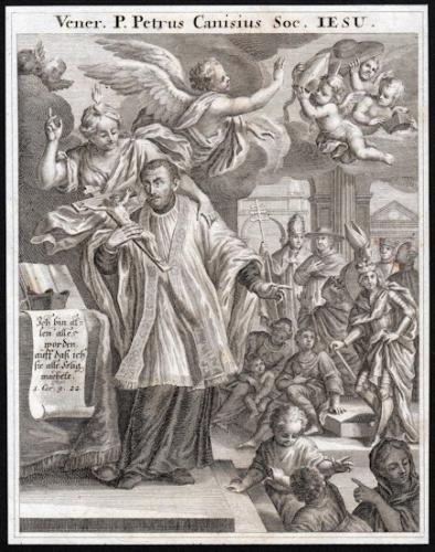 St Pierre Canisius,religieux,docteur de l'Eglise