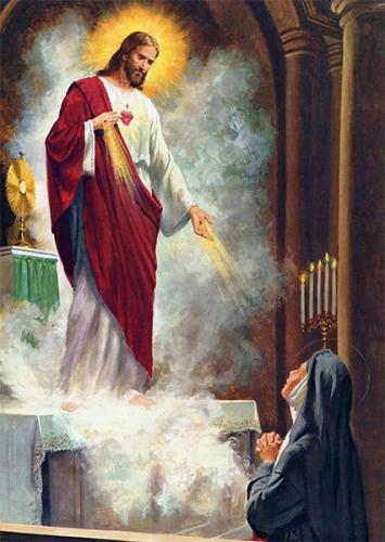 Marguerite-Marie,Alacoque,aimer,Dieu,amour,volonté,impuissance