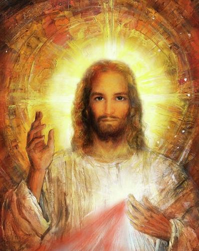 Sacré-Coeur,Jésus,Henri Charlier,présence,Dieu