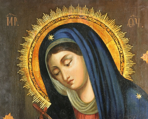 Abbé de Brandt,Notre-Dame,Sept Douleurs,douleurs,croix,Jésus-Christ,Bossuet,sacrifice,souffrance,adoration,silence,douceur,paix