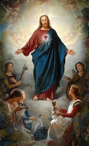 mois,juin,Sacré Coeur,acte,consécration