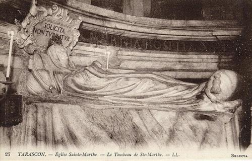 Ste Marthe,vierge,Tarascon,provence
