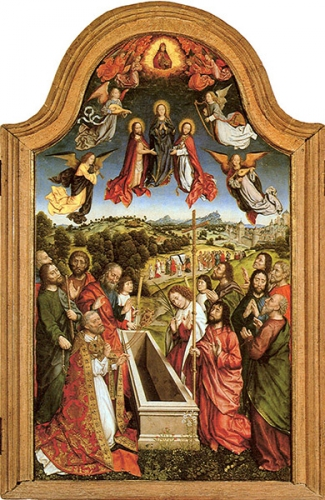 Dom Vandeur,Assomption,Vierge,Marie,Magnificat,Signum Magnum,Assumpta est Maria,fête,allégresse,joie,Mère,Reine,Notre-Dame,anges,archanges,séraphins