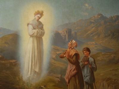 anniversaire,apparitions,belle dame,notre dame,la salette,maximin giraud,mélanie calvat,message,19 septembre,1846