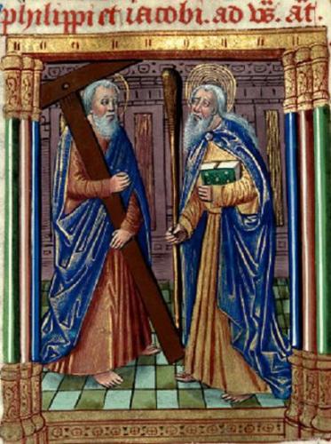 Philippe,Jacques,le mineur,apôtres