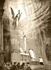 Alphonse,Mère des Douleurs,Eucharistie,sacrement,miséricorde,Sauveur,sacrifice,croix,autel,prêtre,mort,péché,coupable,justice,victime,vie,amour