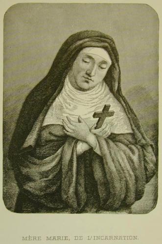 Ste Marie de l'Incarnation,prière,Verbe Incarné,Coeur,Jésus