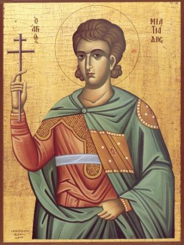 St Melchiade,Miltiade,pape,martyr