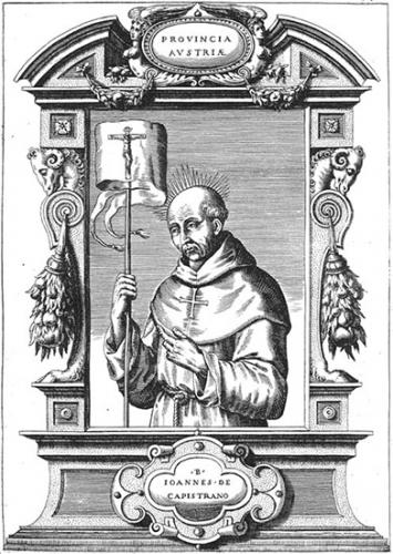Samedi de la Passion,St Jean de Capistran,religieux