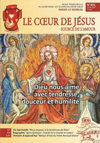 le cœur de jésus,source de l'amour,secretariat,oeuvres sur sacre-coeur,message,paray-le-monial,revue