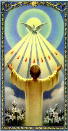 Dom Romain Banquet,prier,prière,décourager,découragement,Saint-Esprit,grâce,impuissance,assistance,richesse,Dieu