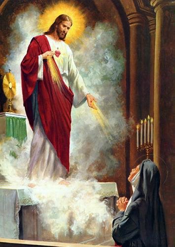 fête,sacré-coeur,apparition,vision,révélation,Jésus,Marguerite-Marie,réparation