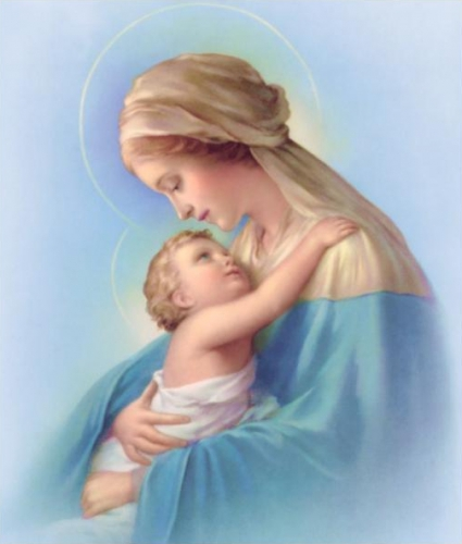 Gabriel Jacquier,Marie,Mère,confiance,misérable,faible,sainteté,petits,soucis,amour maternel,amour divin,fils,foi,amour,Dieu