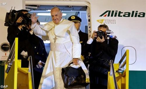 voyage,apostolique,pape,françois,amérique méridionale,equateur,bolivie,paraguay,depart,rome,avion