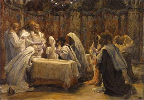 Léon Dehon,Jeudi Saint,Coeur,Jésus,Ténèbres,Cénacle,Saint Jean,pâque,autel,eucharistie,pain,communion,salut,pureté,ferveur
