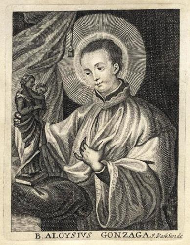 St Louis de Gonzague,religieux,patron de la jeunesse