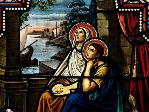 Ste Monique,veuve,St Augustin