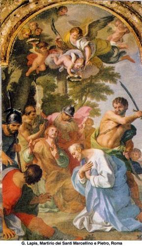 saints,marcellin,pierre,erasme,évêque,martyrs,saint,pothin,martyr,lyon,sainte,blandine,compagnons,sanctus,diacre,vettius-epagathe,maturus,pontique,biblis,attale,alexandre,nicéphore ier,patriarche,constantinople,propontide,eugène ier,pape,confesseur,rome,nicolas le pèlerin,trani,les pouilles,elme,macédoine,italie,vartan,aravair,arménie,majan,diocèse,auch,algise,missionnaire,ermite,aisne,dimitrios de philadelphie,marin,officier,ermitage